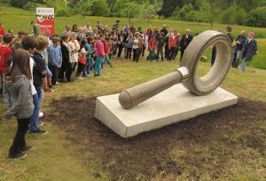 Denkmal Bürgerstein am Hungerberg eingeweiht