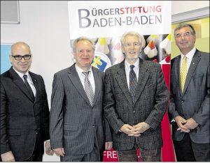 Wolfgang Gerstner wird Sitftungsratsvorsitzender