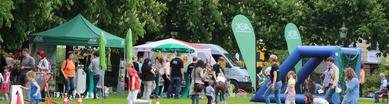 Kunterbunter Kinderspaß der Bürgerstiftung Baden-Baden